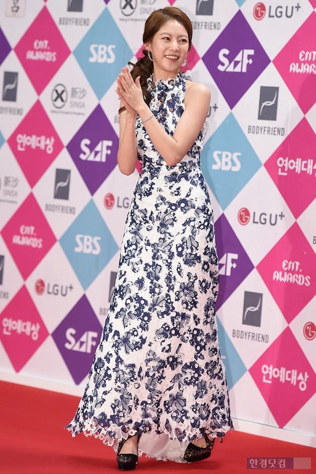 [HEI포토] 공승연, '아름다운 모습에 눈길~' (SBS 연예대상)