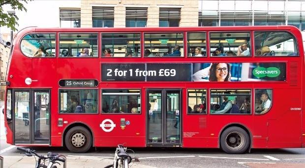 런던의 상징이자 명물인 런던버스