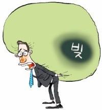 [시한폭탄 가계빚] 대출금리 뛰고 손님은 줄고…570만 자영업자 '빚폭탄' 째깍째깍