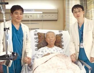 95세 환자 대상 고난도 심장병 수술 성공
