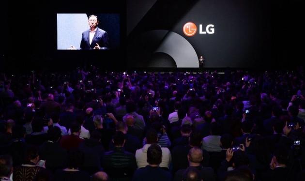 """[포토] 'LG G6' 공개 임박, """"한 마디라도 놓칠라"""""""