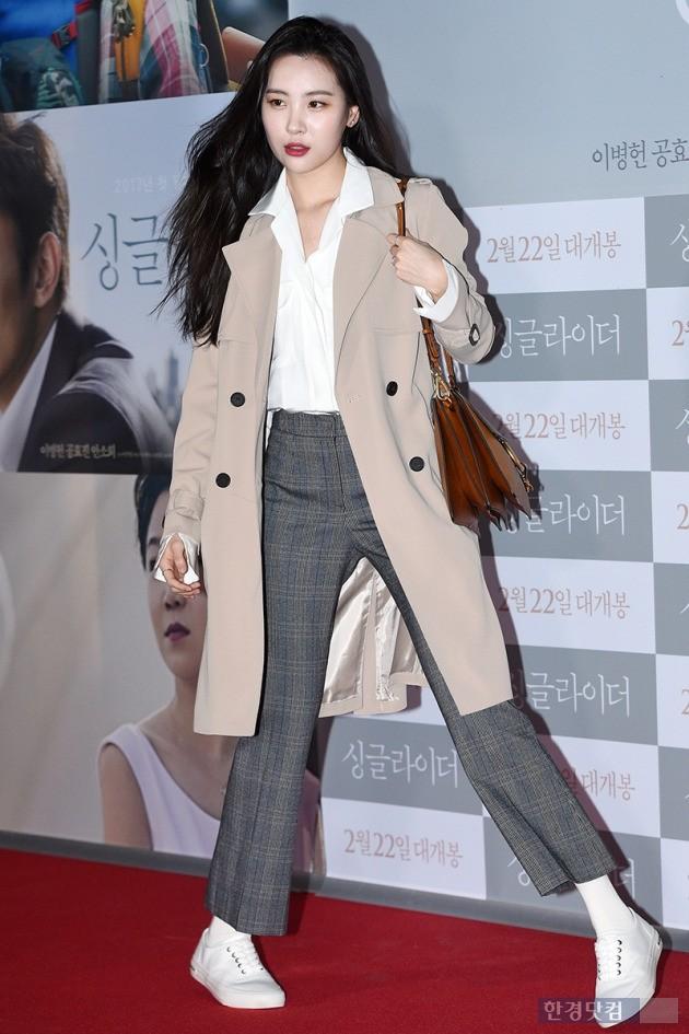 [HEI포토] 선미, '돋보이는 사복 패션'