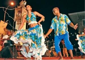 세이셸의 수도 빅토리아 시내에서 열린 축제. 세이셸관광청 제공