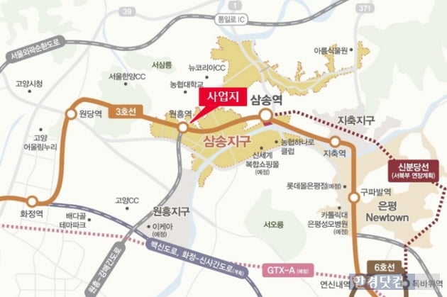 [삼송2차 원흥역 동원로얄듀크 비스타②입지]3호선 원흥역 출구 바로 앞 초역세권 단지