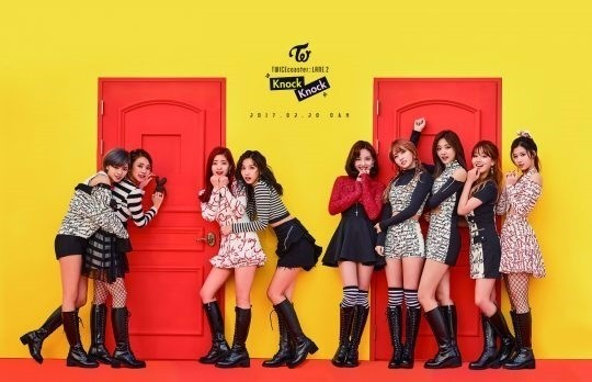 JYP엔터테인먼트의 걸그룹 '트와이스'. 한경DB