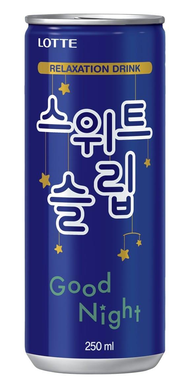 잠자기 전 마시는 탄산음료?…롯데칠성, 숙면음료 첫 선