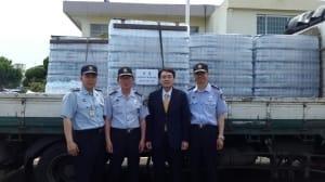 박준희 아이넷-TV방송 회장,교도소 수용자에게 생수와 책 등 다양한 지원