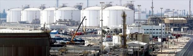 카타르 수도 도하에서 북쪽으로 80㎞ 떨어진 액화천연가스(LNG) 생산 거점 라스라판 산업단지. 라스라판AFP연합뉴스