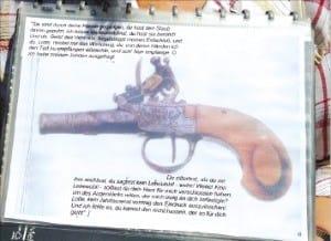 괴테의 친구가 자살할 때 사용한 권총