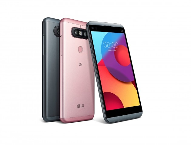 LG전자, 스마트폰 'Q8' 공개…중저가 시장 지배력 강화한다