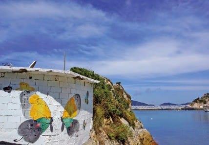 영산도 마을에 그려진 벽화
