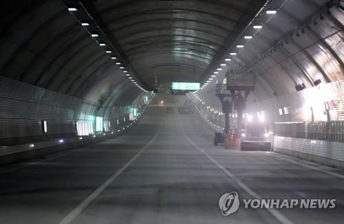 '배수 끝' 국내 최장 해저터널 통행 재개…일주일 침수