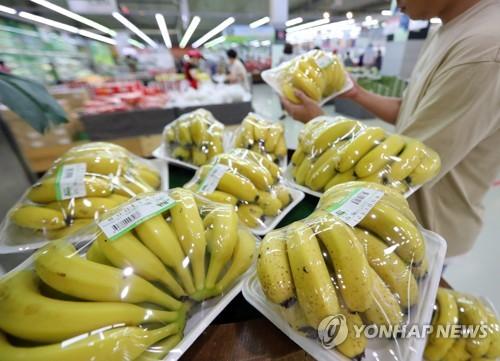 국민이 선호하는 수입과일은…바나나 > 오렌지 > 포도 順
