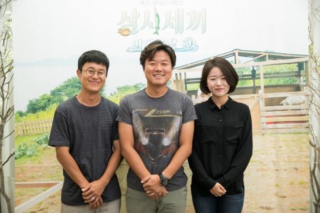 '삼시세끼 바다목장 편' 나영석 PD 이진주PD 김대주 작가 /사진=tvN