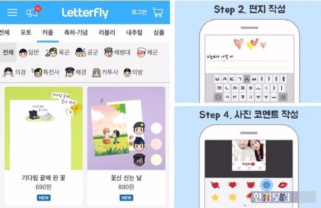 레터플라이는 온라인 편지 주문 발송 전문 업체다. 지금까지 총 5억 원 규모의 투자를 받을 만큼 사업성을 인정받았다.