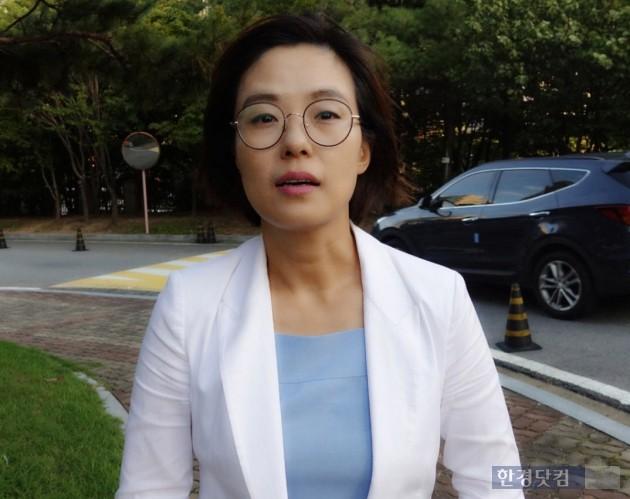 김지미 변호사(인천 초등생 살인사건 피해아동측 변호인)_사진 이미나 기자