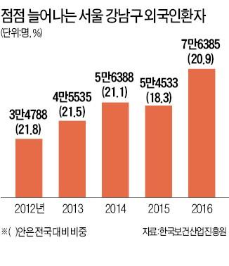 '성형·미용특구' 강남구, 의료관광 연 20만명 도전