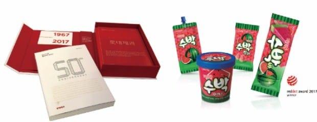 [똑똑한 소비] 수박을 통째로 입힌 것 같은 디자인… '잘익은 수박 시리즈' 레드닷 수상