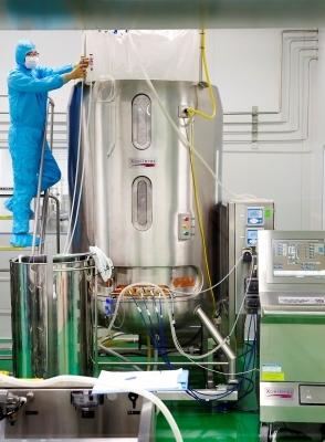 세계 최초 4가 세포배양 독감백신 생산하는 SK케미칼 공장 가보니