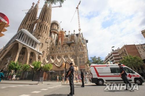 """스페인 테러범 """"성가족성당 등 명소에 폭탄공격 계획"""""""