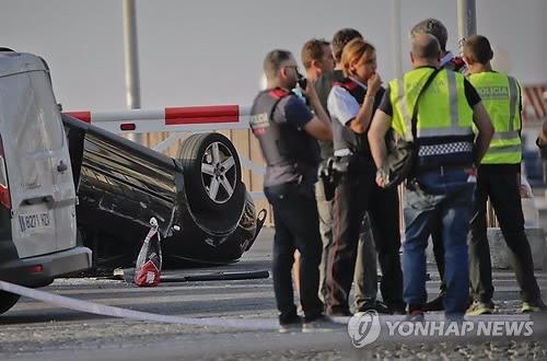 바르셀로나 차량테러 제3 용의자 체포… 최소 1명 이상 도주 중