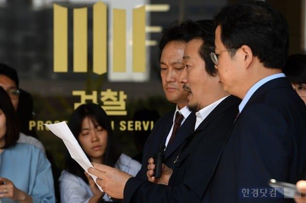 [포토] 안민석-이상호-김성훈, '김광석-김서연 부녀는 타살'