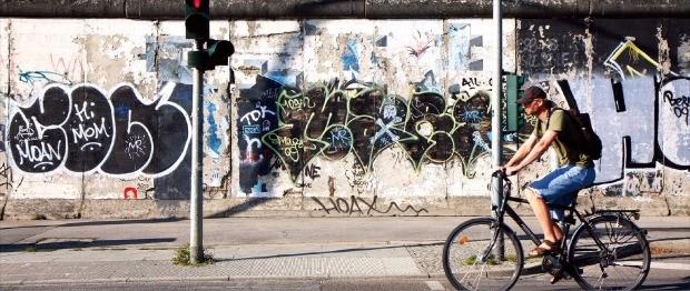 독일 동서 분단의 상징인 베를린 장벽