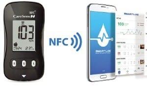 스마트폰으로 어디서나 혈당 측정 가능해요