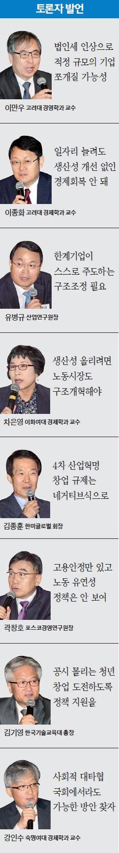 """[한경 밀레니엄포럼] 김동연 """"노동시장 수요·공급·구조개혁 함께 풀어야 일자리 문제 해결"""""""