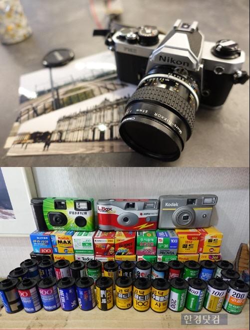 [아날로그의 재발견] (6.끝) 필름 카메라, 느리고 번거로운 그 매력