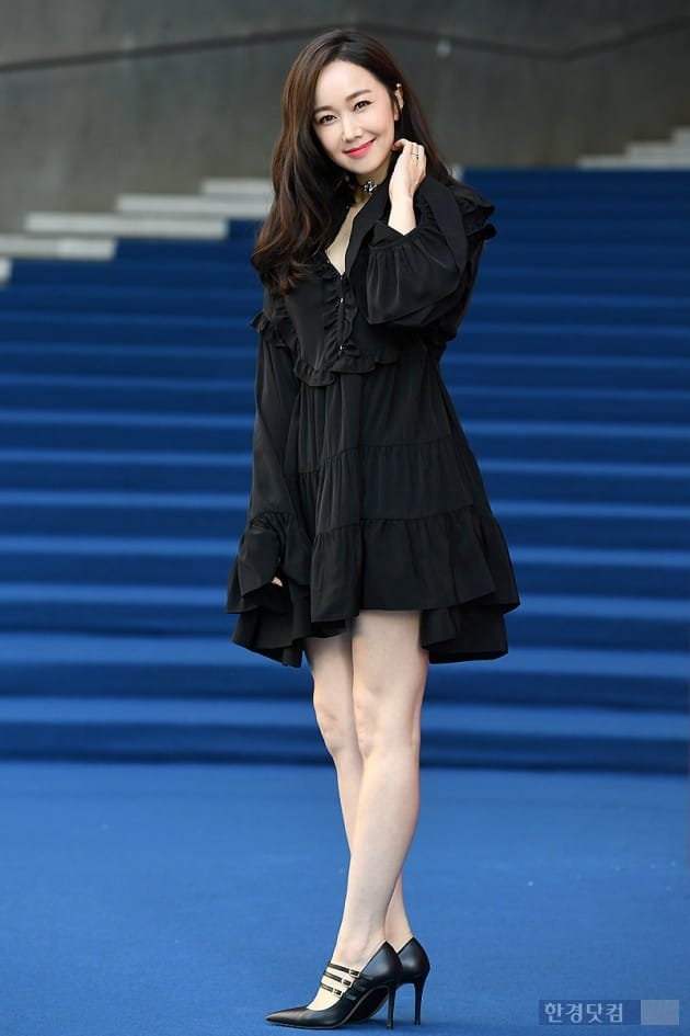 [포토] 김민서, '볼수록 사랑스러운 미소~' (2018 S/S 서울패션위크)