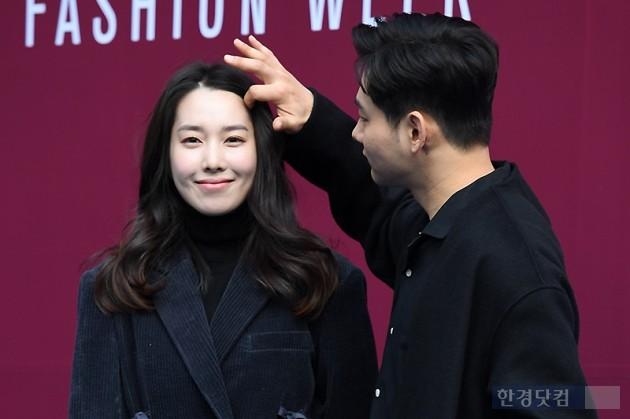 [포토] 장진영-강해인 커플, '현실 커플의 리얼한 달콤함'