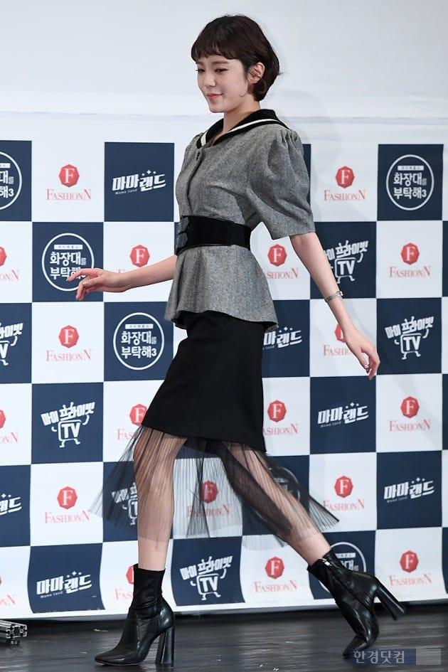 [포토] 리지, '늘씬한 각선미 뽐내며 등장~'