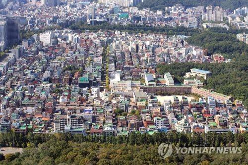 전국 주택 '중간가격' 3년4개월만에 첫 하락