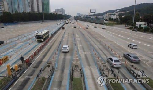 '귀성길 분산' 여유로운 고속도로… 서울∼부산 4시간 20분