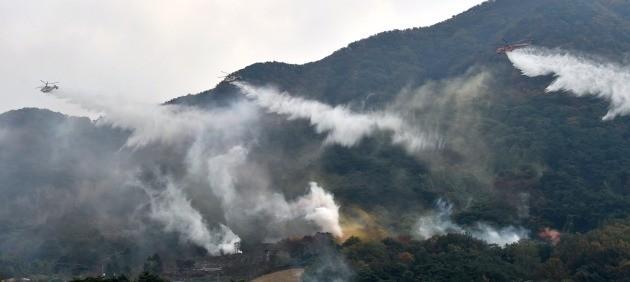 산림청, 산불재난대응 유관기관 합동훈련 실시