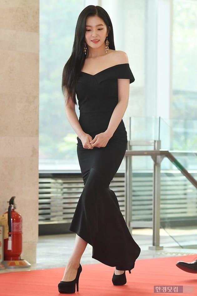 [포토] 아이린, '블랙 원피스 입고 우아하게 등장 ' (대한민국 대중문화예술상)