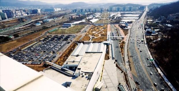 신혼희망타운 620가구가 들어설 예정인 서울 수서역세권 지역. 내년에 사업 승인을 완료하고 2021년 입주를 추진하고 있다.  ♣♣LH 제공