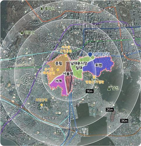 서울로 7017, 서울역 민자역사 옥상으로 연결한다
