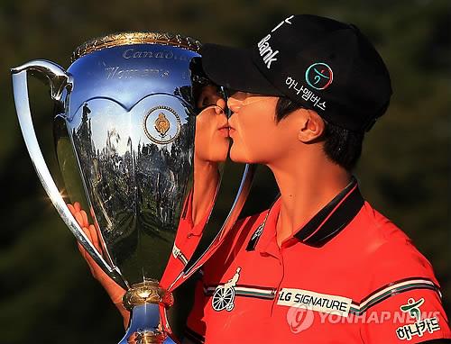 미국 진출 첫해에 LPGA 투어 평정한 박성현… 이제는 '골프 여제'