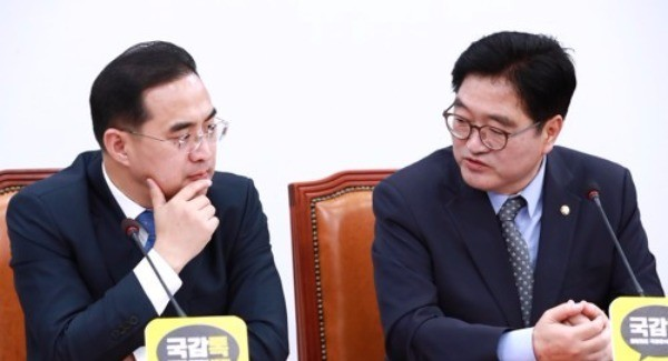 與, 예산국회 '무거운 발걸음'… 홍종학 변수 예의주시