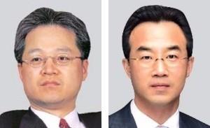 권성문 회장(왼쪽), 이병철 부회장