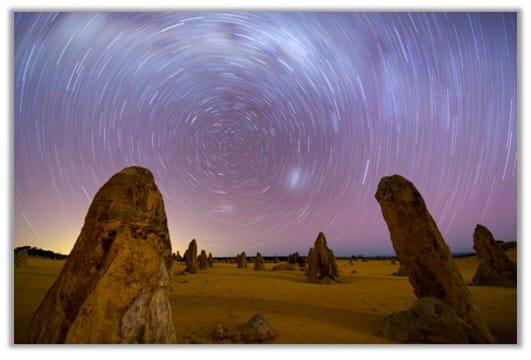 호주 서부의 피너클스