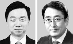 최희문 사장(왼쪽), 김용범 사장