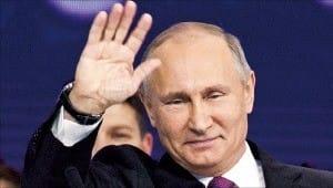 푸틴 러시아 대통령, 대선 출마 공식 선언
