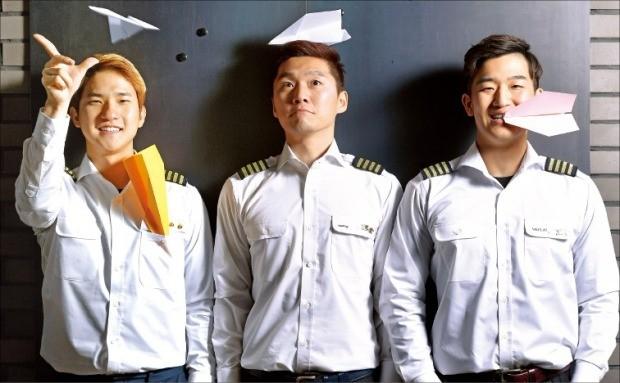 왼쪽부터 이승훈, 이정욱, 김영준 씨.