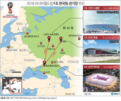 신태용호 월드컵 결전지 3곳은 '4만5000명 수용 신설 경기장'