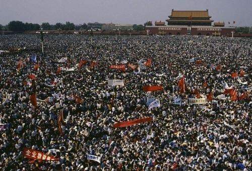 중국 톈안먼 사태 사망자 1만명 넘는다 영국 기밀해제 외교문서