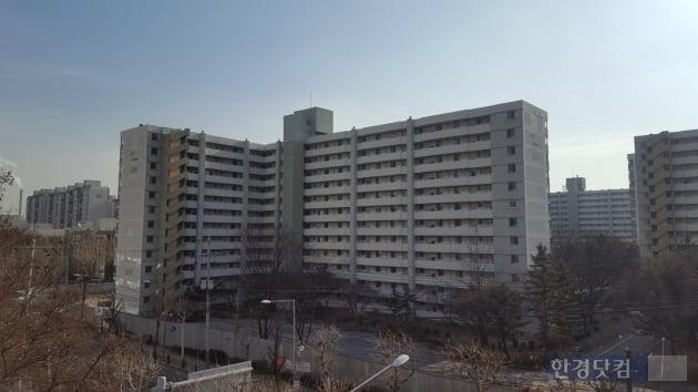 '개포8단지' 공무원아파트 외관. 이소은 기자