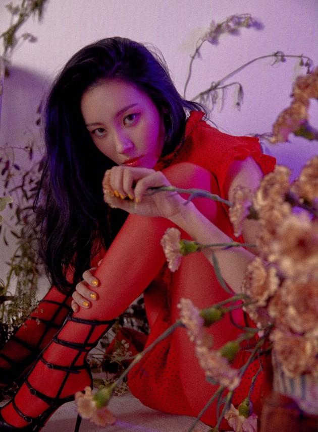 """""""女솔로 최강자""""…선미 '주인공', 7개 음원차트 1위 올킬"""